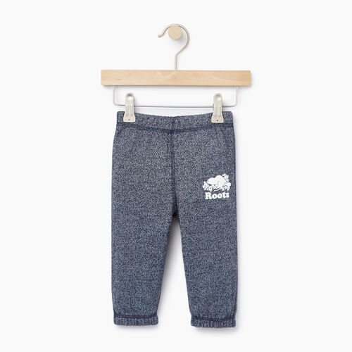 Roots-Kids Bottoms-Baby Original Sweatpant-Navy Blazer Pepper-A