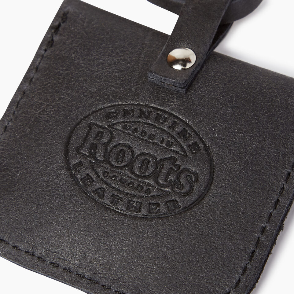 Roots-Leather Leather Accessories-Leather Tie Pouch-Jet Black-C