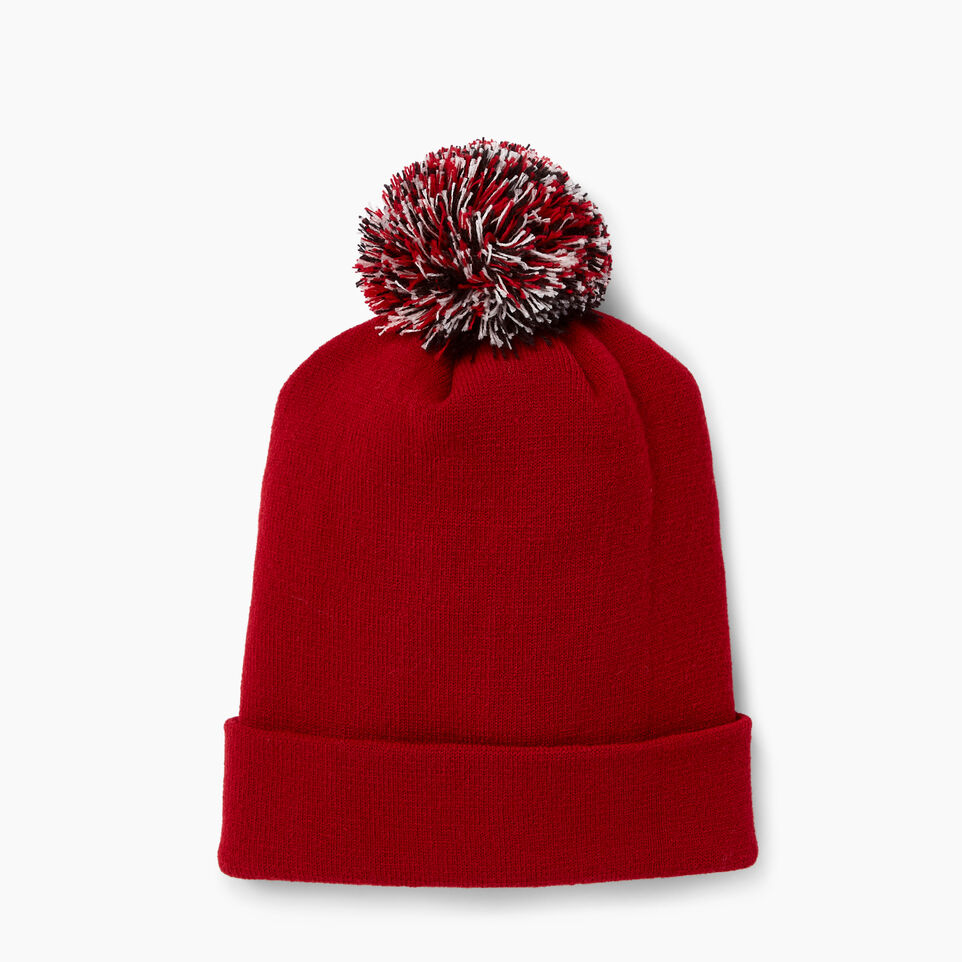 Roots-New For June Canada Collection By Roots™-Canada Pom Pom Toque-Red-C