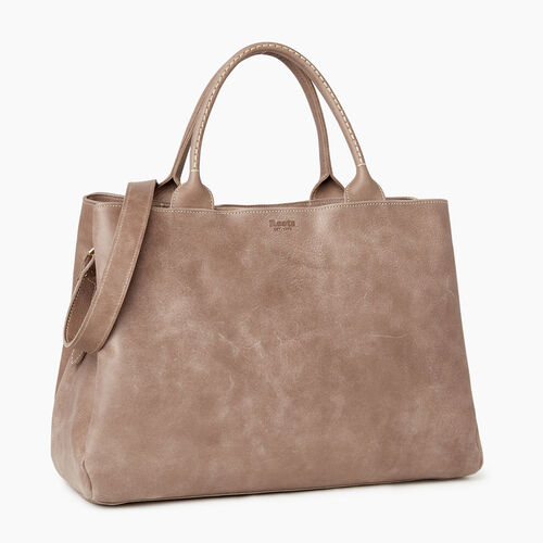 Roots-Leather Our Favourite New Arrivals-Large Mont Royal Bag-Fawn-A