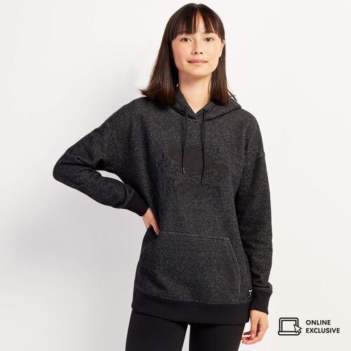 Roots-New For November Online Exclusives-Norquay Boxy Hoody-Black Pepper-A
