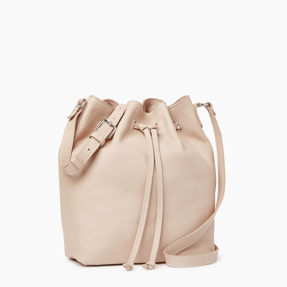 Roots-Leather  Handcrafted By Us Our Favourite New Arrivals-Sherbrooke Bucket-Pink Mist-A