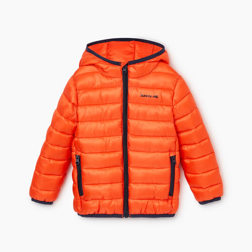 Roots-Kids Categories-Toddler Roots Puffer Jacket-Spicy Orange-A