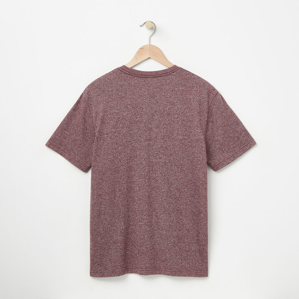 Roots-undefined-Mens Chain Beaver T-shirt-undefined-B