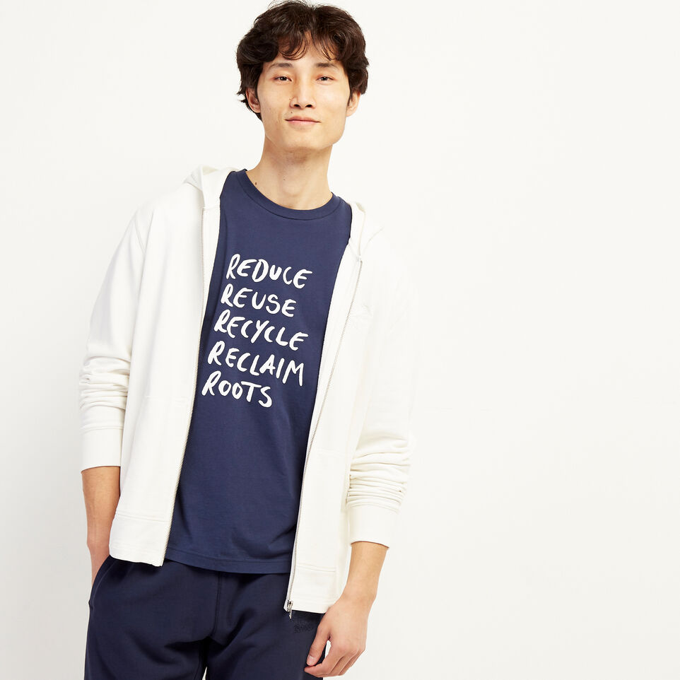 Roots-undefined-Mens Roots Recycle T-shirt-undefined-B