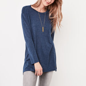 Roots-Sale Tops-Jules Pocket Top-Indigo Mix-A