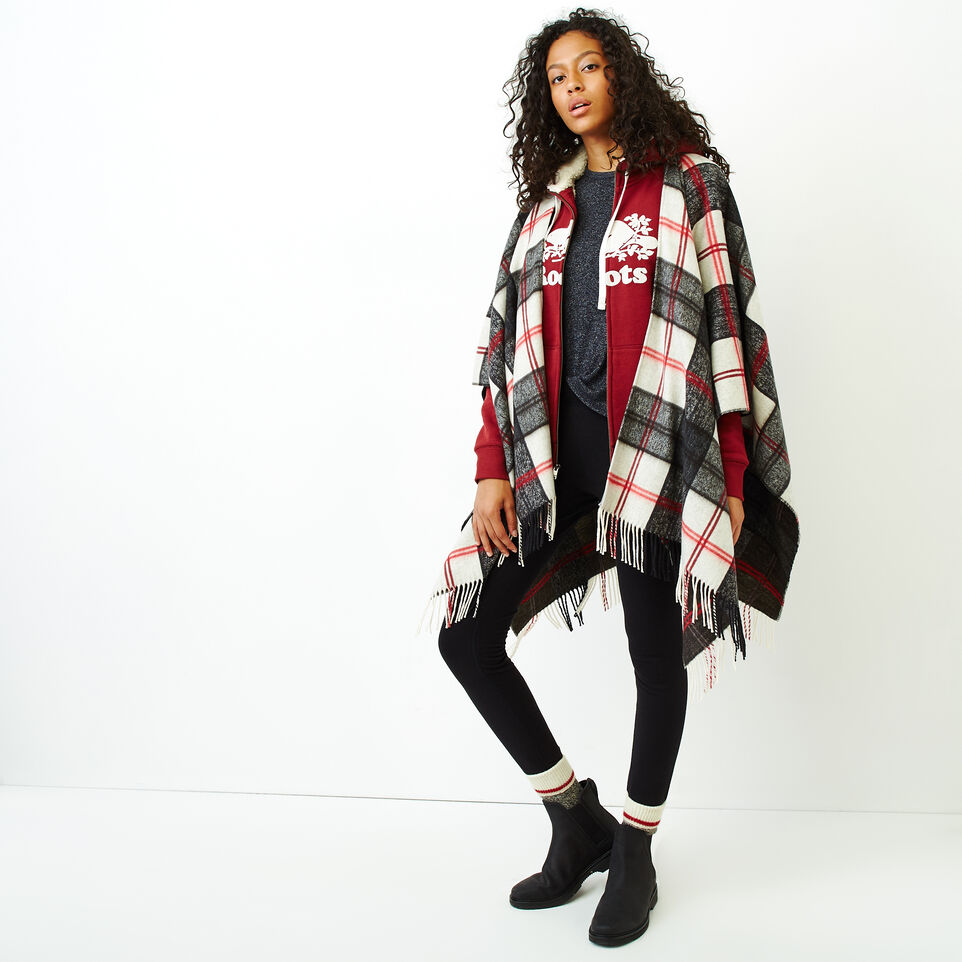 Roots-Women Our Favourite New Arrivals-Sherpa-lined Hoody-Ruby Wine-B