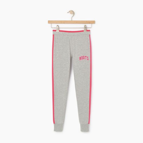 Roots-Kids Our Favourite New Arrivals-Girls 2.0 Jogger-Grey Mix-A