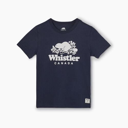 Roots-New For September City Collection-Boys Whistler Ski City T-shirt-Navy Blazer-A