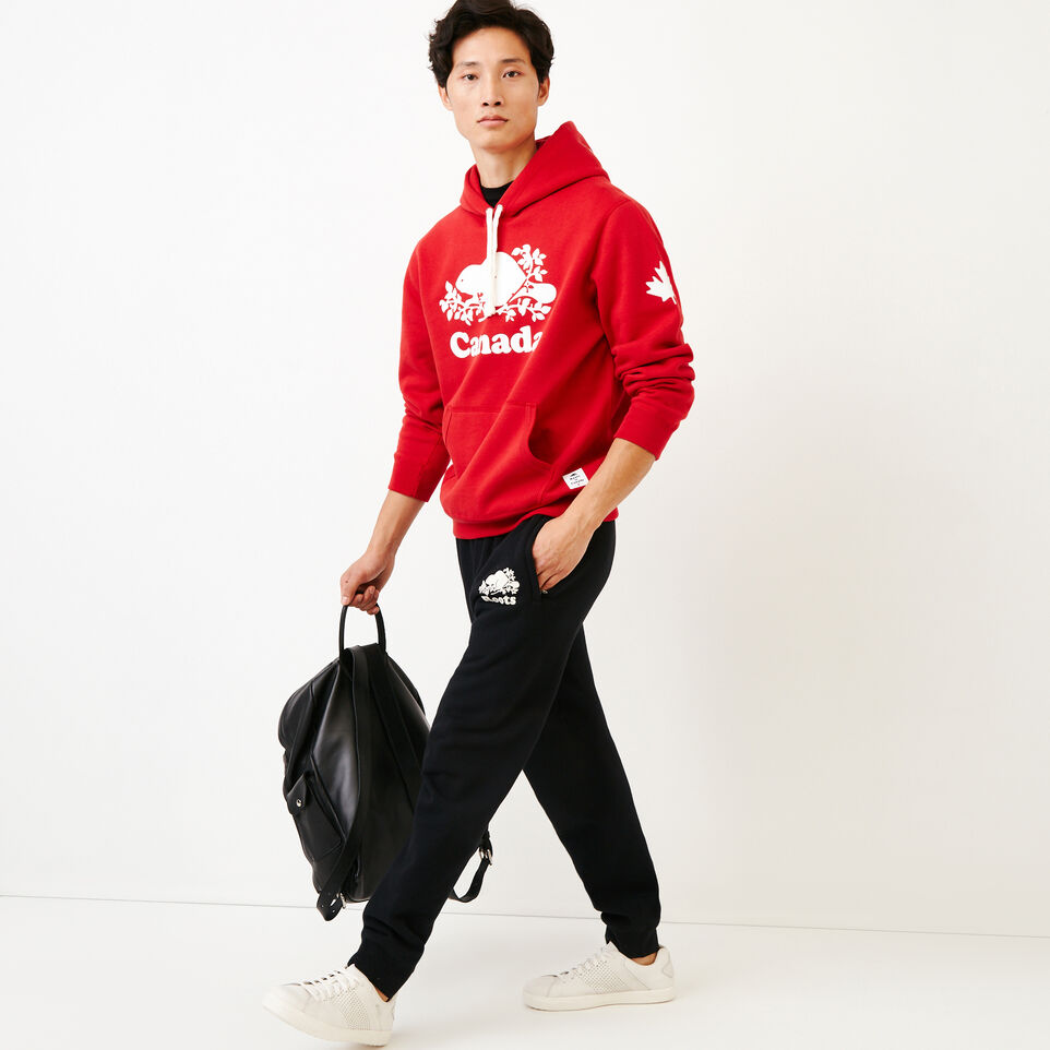 Roots-Gift Guide Canada Collection By Roots™-Mens Cooper Canada Hoody-Sage Red-B