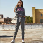 Roots-New For April Roots X Boy Meets Girl-Roots x Boy Meets Girl - Freedom Sweatpant-Salt & Pepper-F