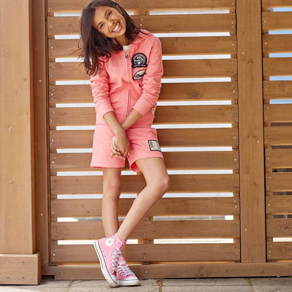 Roots-undefined-Girls Camp Patch Full Zip Hoody-undefined-E