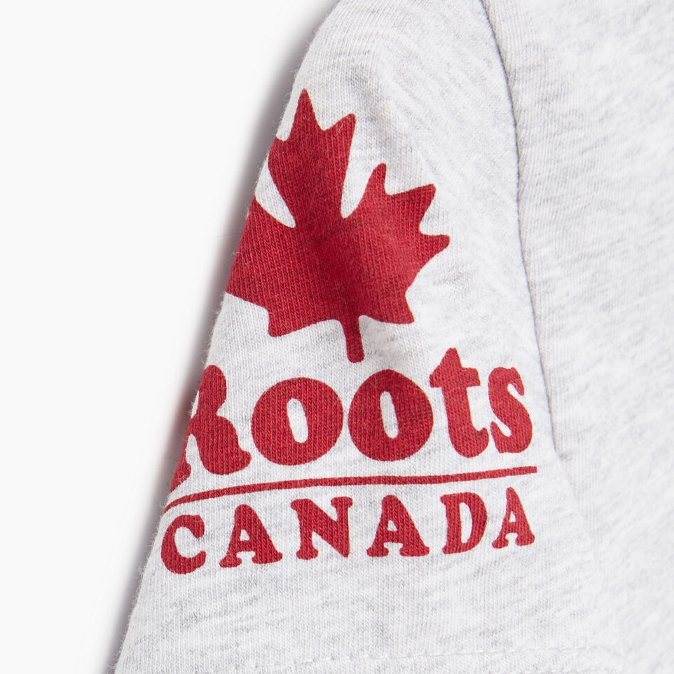 Roots-Kids Our Favourite New Arrivals-Girls Canada T-shirt-Snowy Ice Mix-E