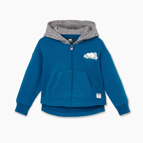 Roots-Kids Tops-Toddler Remix Full Zip Hoody-Moroccan Blue-A