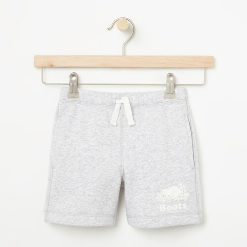 Roots-Sale Girls-Girls Original Athletic Short-Snowy Ice Mix-A