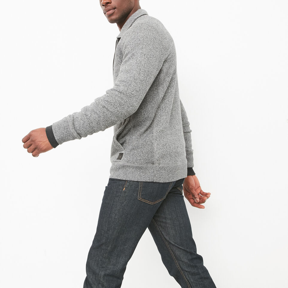 Roots-undefined-Mowat Herringbone 1/4 Zip Polo-undefined-B