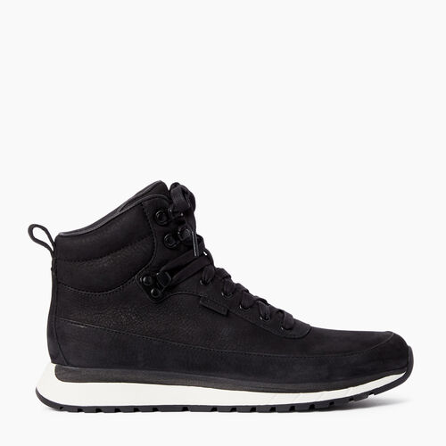 Roots-Footwear Shoes And Sneakers-Womens Rideau Mid Sneaker-Black-A