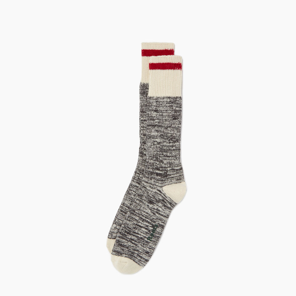 Roots-undefined-Mens Classic Cotton Cabin Sock 2 pack-undefined-A