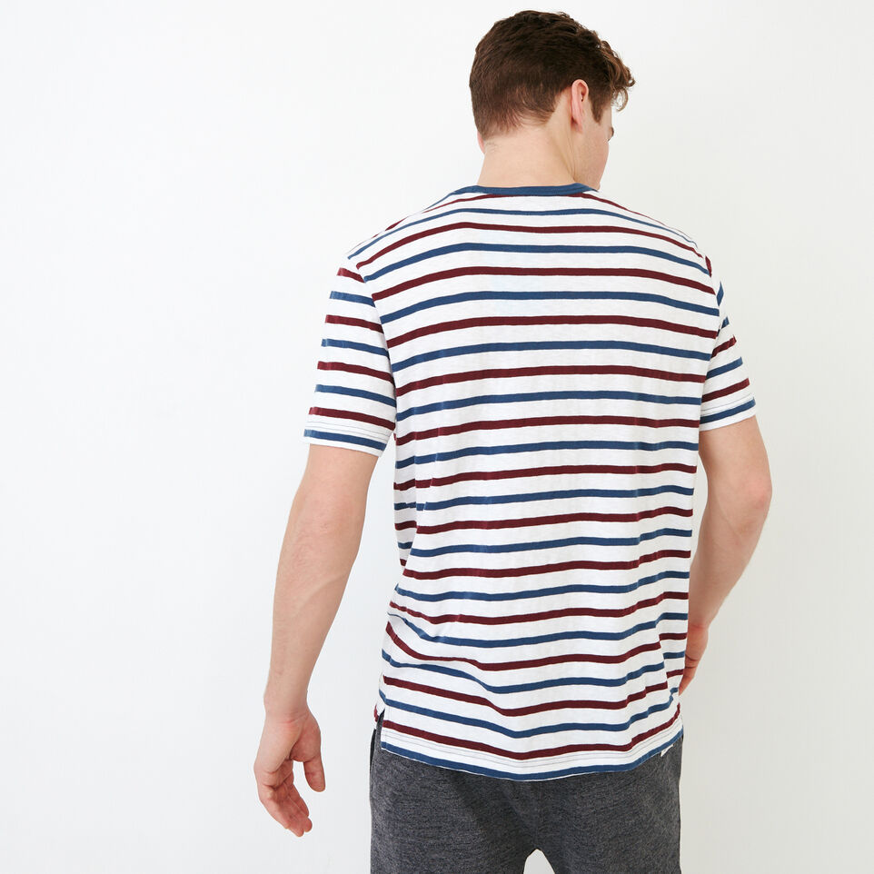 Roots-undefined-Striped Pocket T-shirt-undefined-E