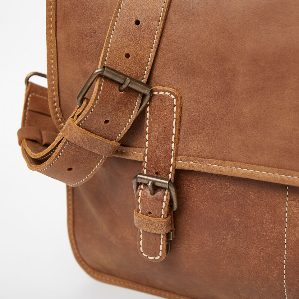 Roots-Leather Briefcases & Messengers-The Original Briefcase-Natural-D