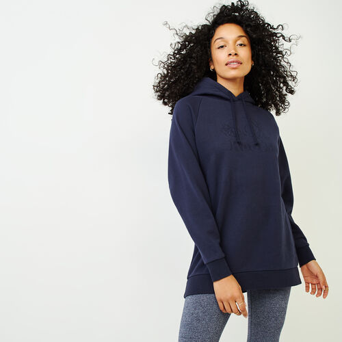 Roots-Women Categories-Sussex Tunic Hoody-Navy Blazer-A