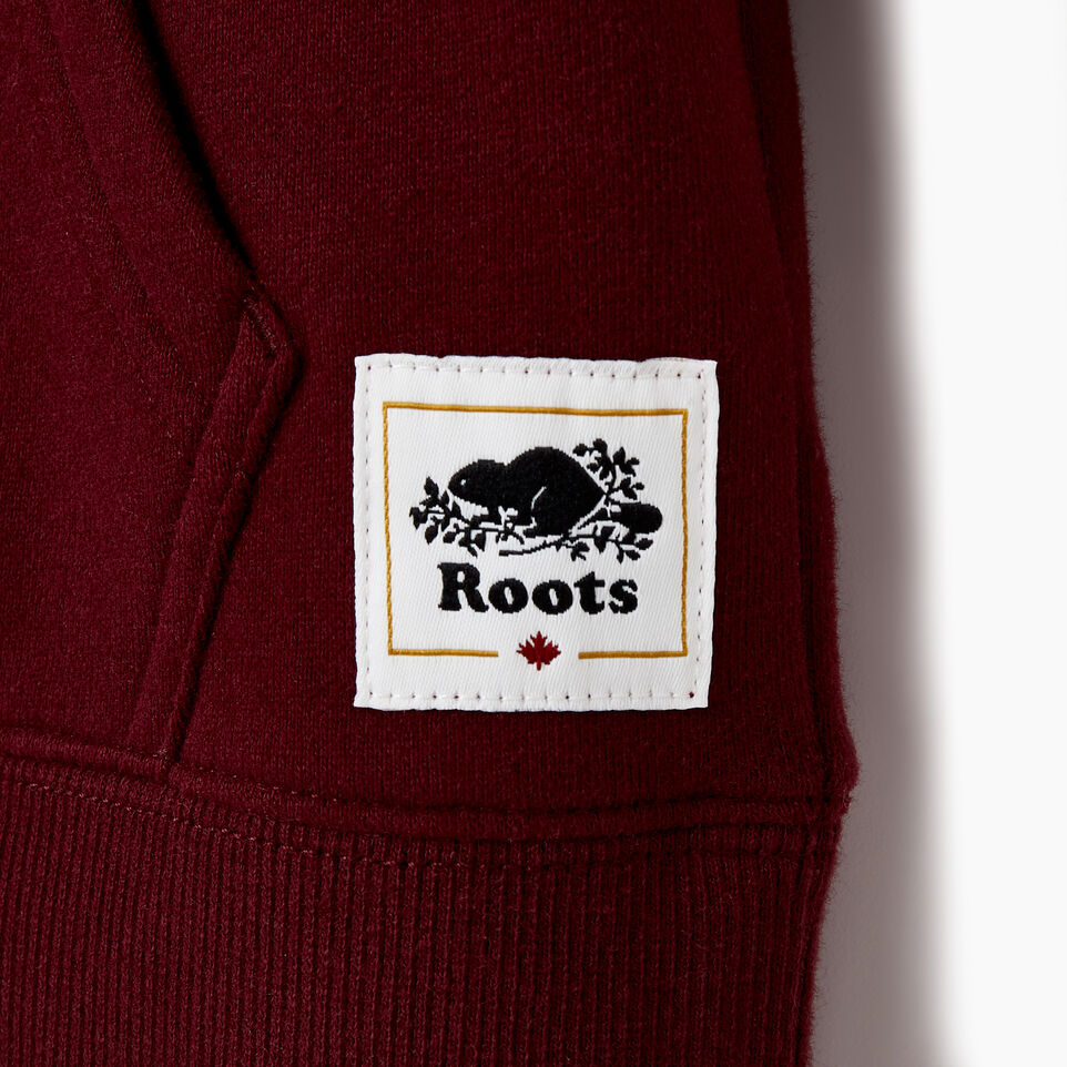 Roots-Kids Categories-Girls Canada Kanga Hoody-Northern Red-D