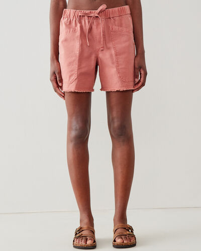 Roots-Shorts Women-Margaree Pocket Short 5.5 In-Canyon Rose-A