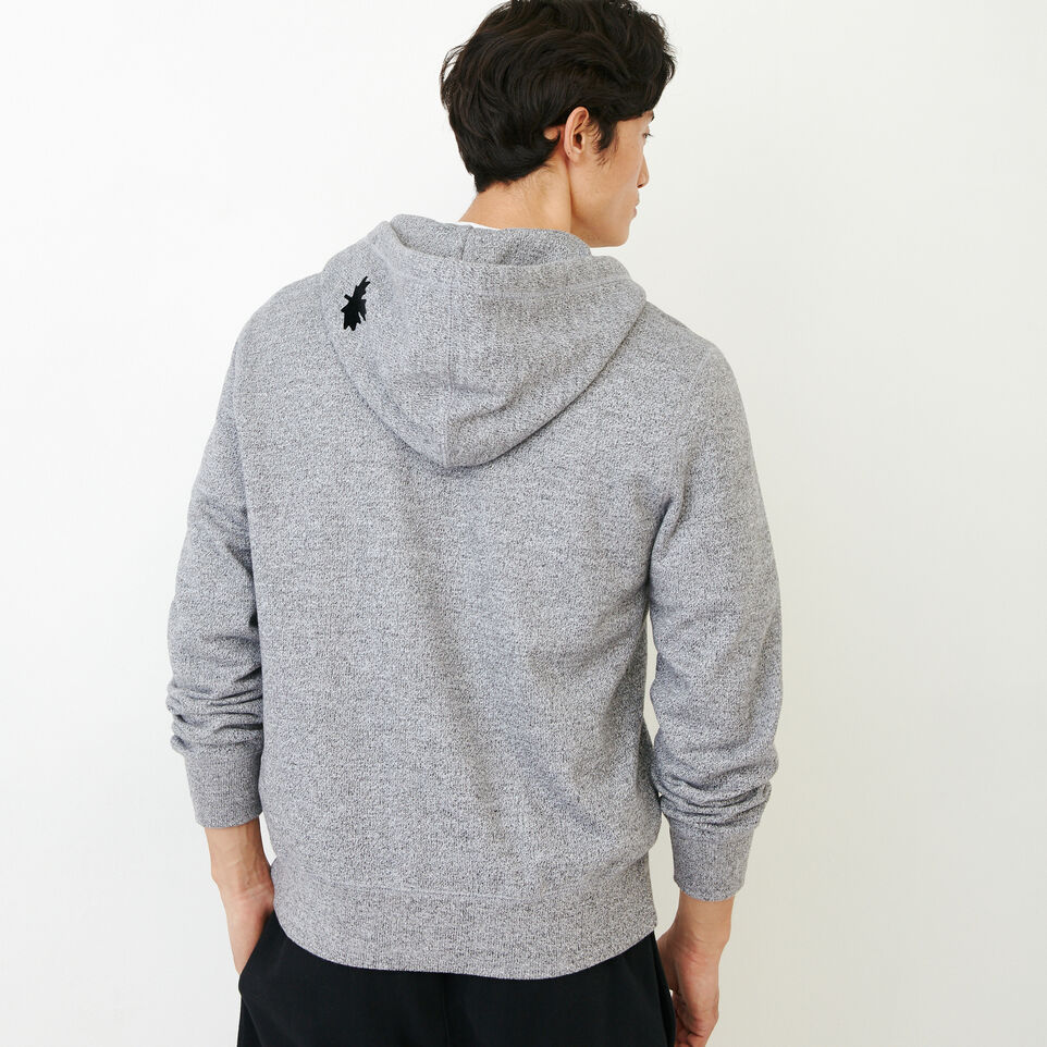 Roots-undefined-Roots Salt and Pepper Original Full Zip Hoody-undefined-D