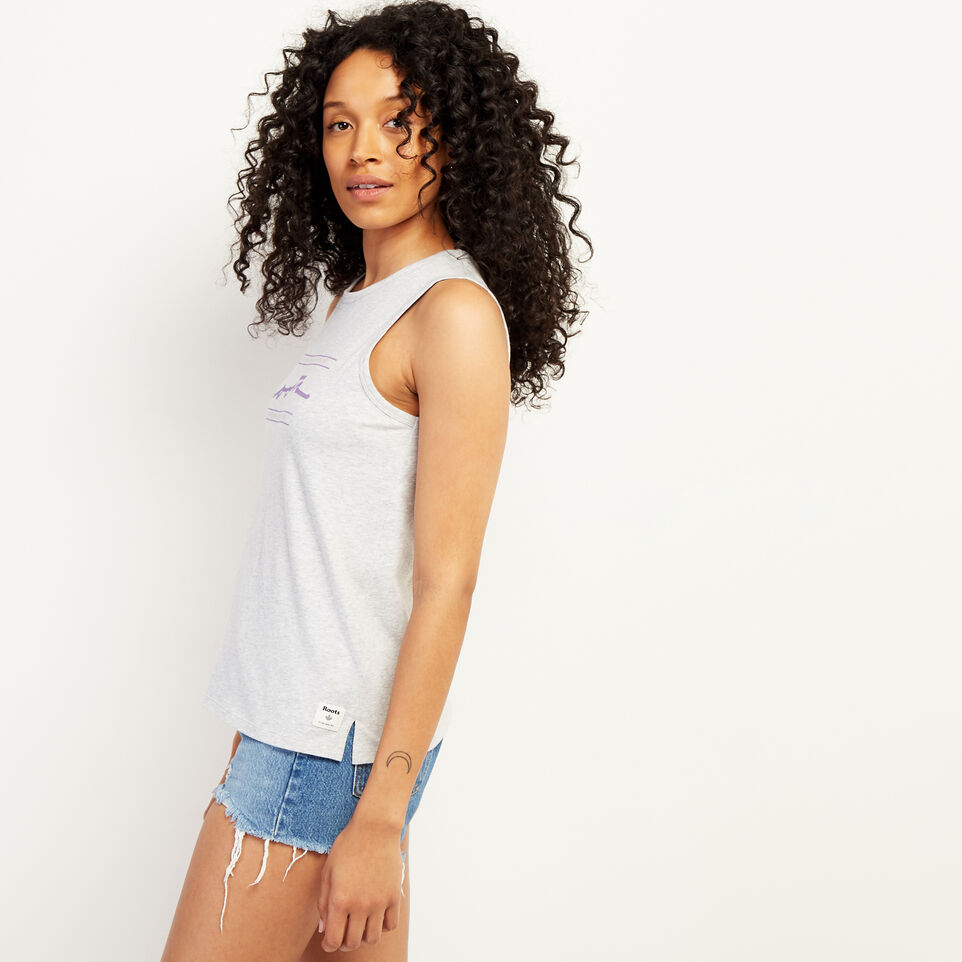 Roots-undefined-Script Tank Top-undefined-C