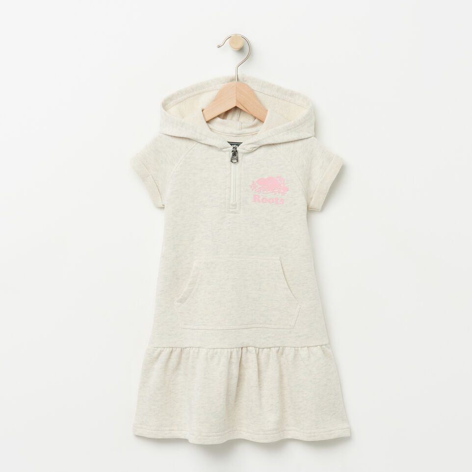 Roots-Toddler Short Sleeve Hooded Dress