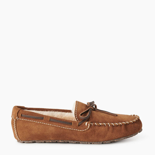 Roots-Gifts Holiday X Arielle & Leah-Womens Moc Slipper-Natural-A