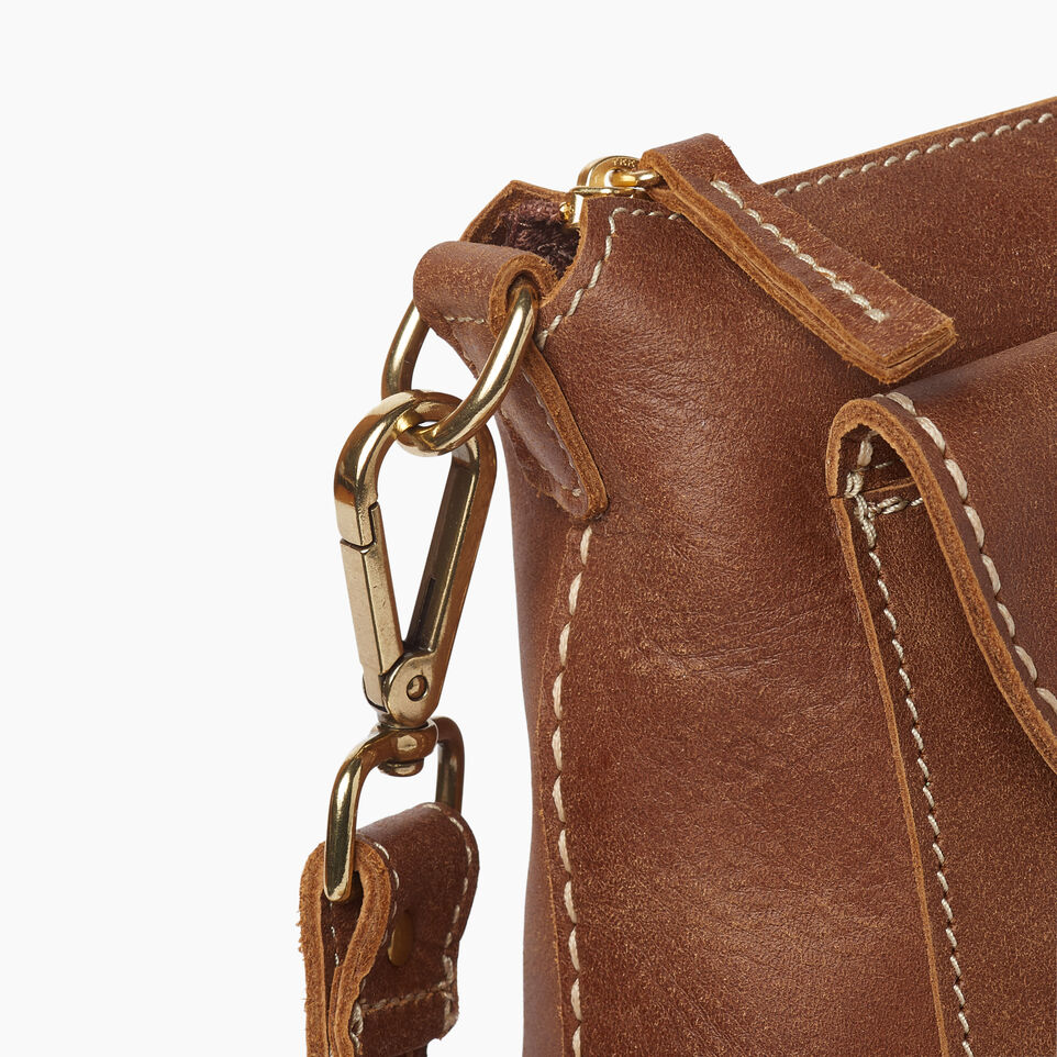 Roots-Leather  Handcrafted By Us Our Favourite New Arrivals-Richmond Crossbody-Natural-E
