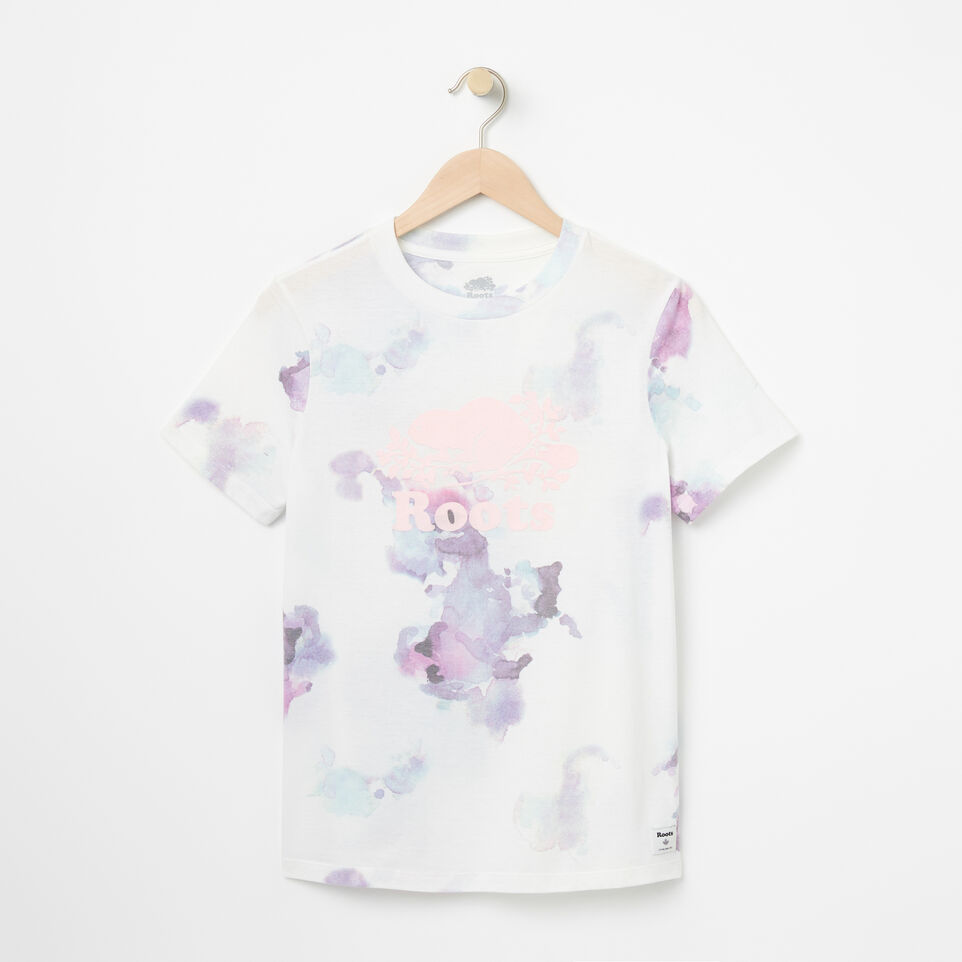Roots-undefined-T-shirt Cooper Aquarelle-undefined-A