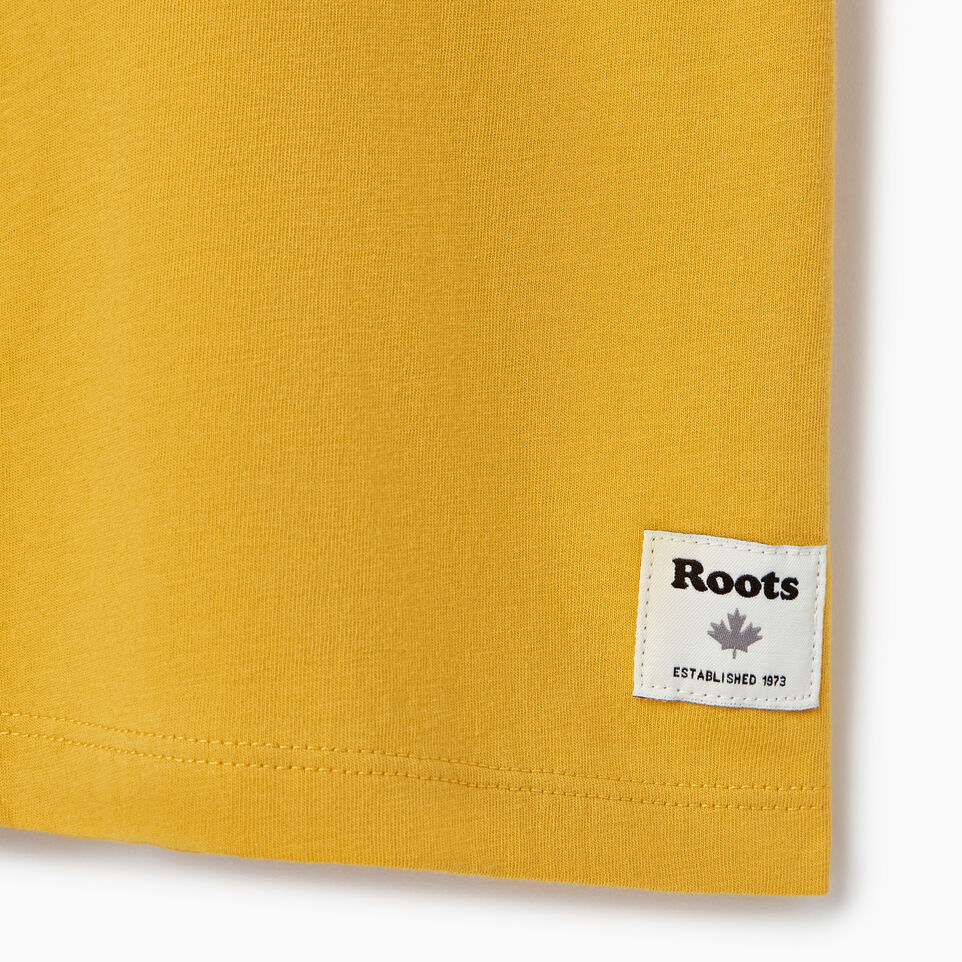 Roots-New For July Daily Offer-Womens Burnaby T-shirt-Medallion-C