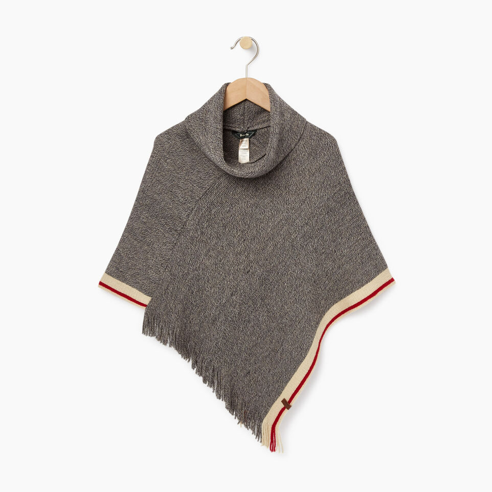 Roots-Kids Cabin Poncho