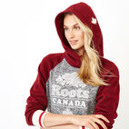 Roots-undefined-Cabin Sweater Fleece Kanga Hoody-undefined-D