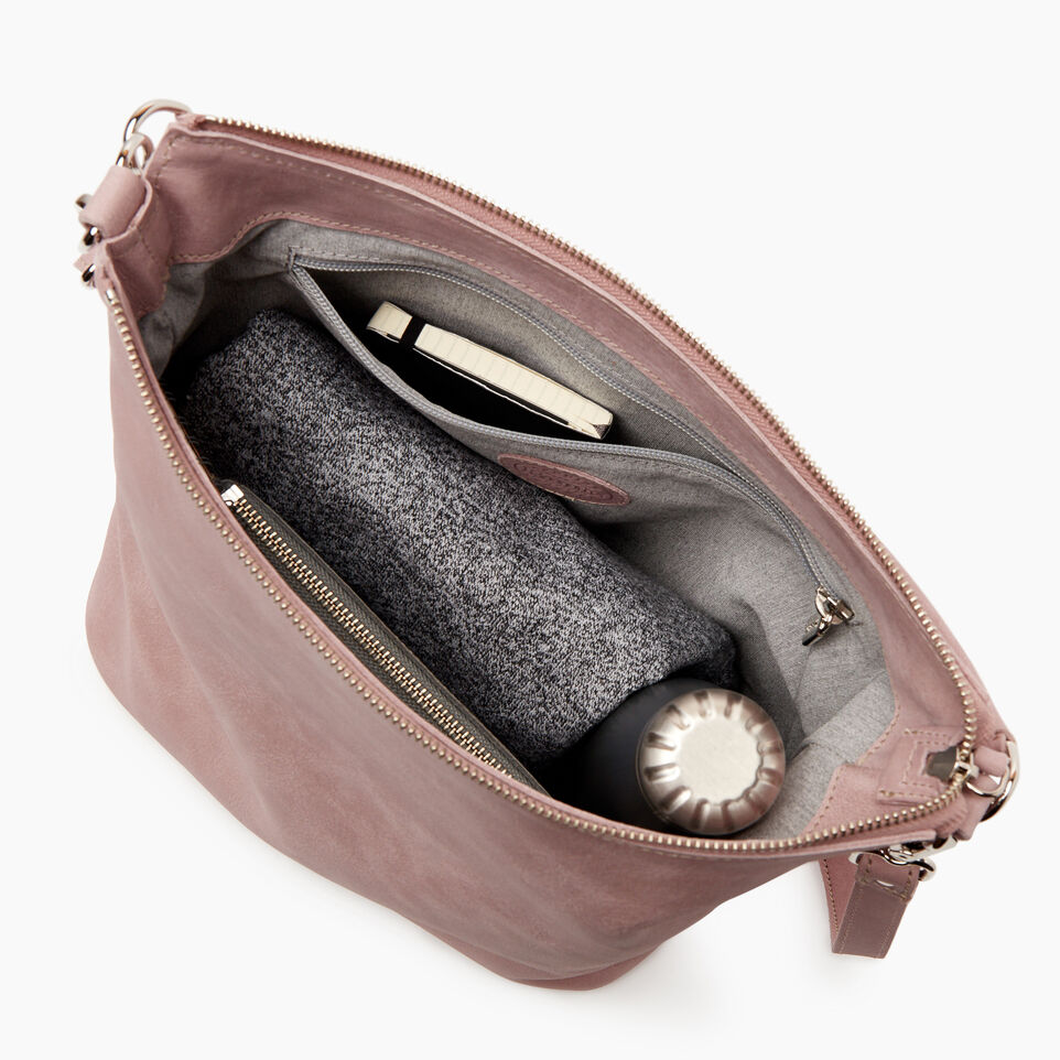 Roots-Leather  Handcrafted By Us New Arrivals-Ella Bag-Woodrose-D