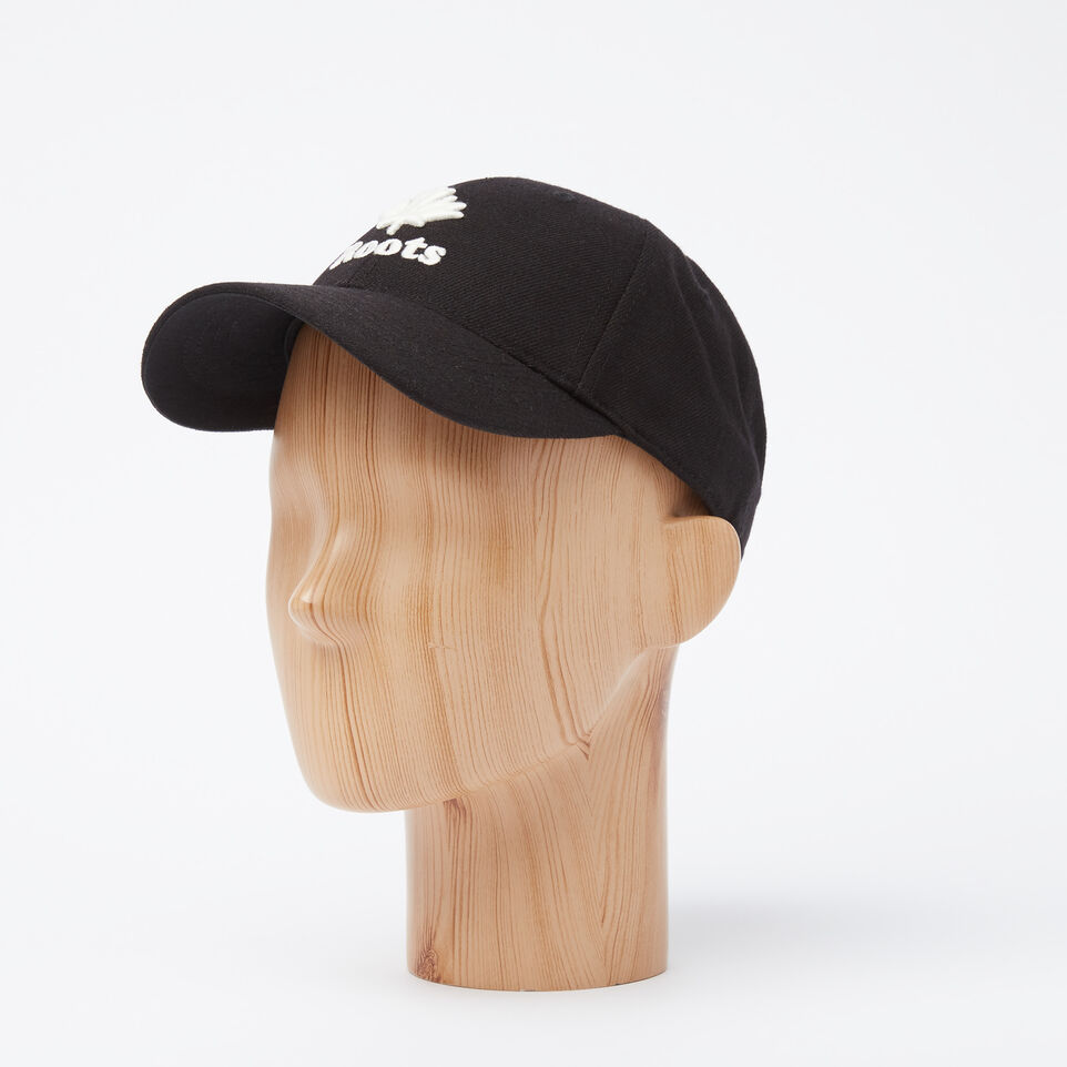 Roots-undefined-Kids Modern Leaf Baseball Cap-undefined-B