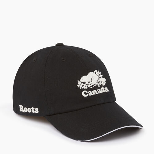 Roots-Men Accessories-Canada Baseball Cap-Black-A