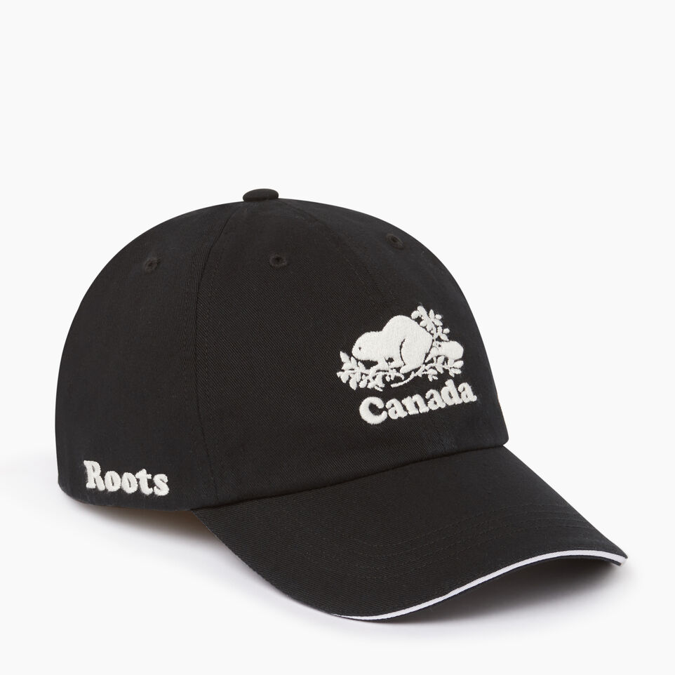 Roots-Women Our Favourite New Arrivals-Canada Baseball Cap-Black-A