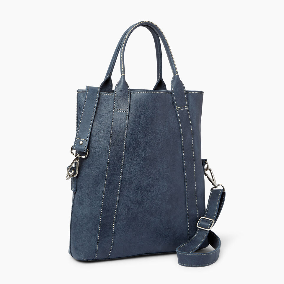 Roots-Leather Our Favourite New Arrivals-Annex Tote-Navy-C