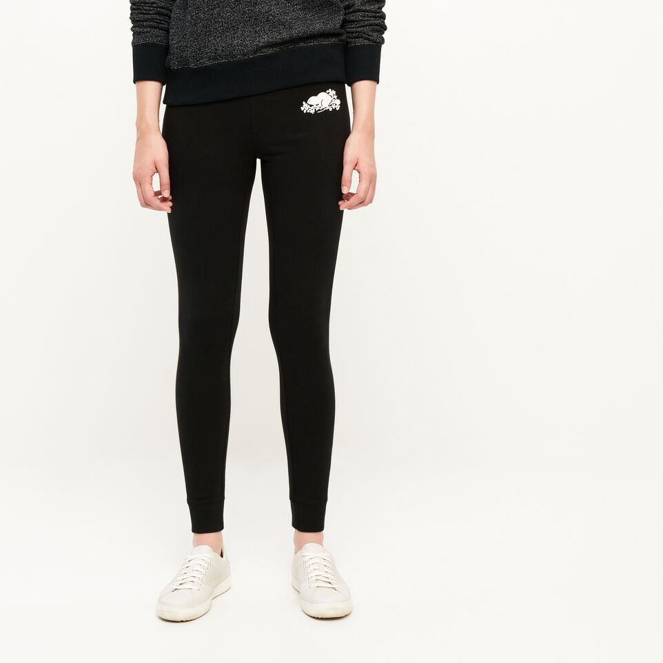 Roots-Cozy Fleece Skinny Sweatpant