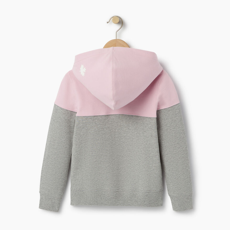 Roots-undefined-Girls Colour Block Full Zip Hoody-undefined-B