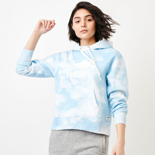 Roots-New For March Sweats-Cloud Boxy Hoody-Baby Blue-A