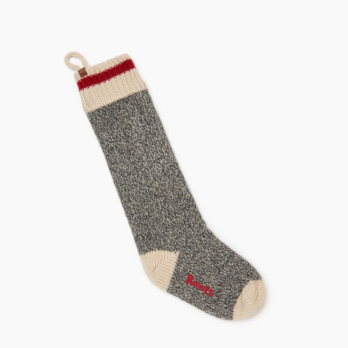 Roots-Women Accessories-Roots Cabin Stocking-Grey Oat Mix-A