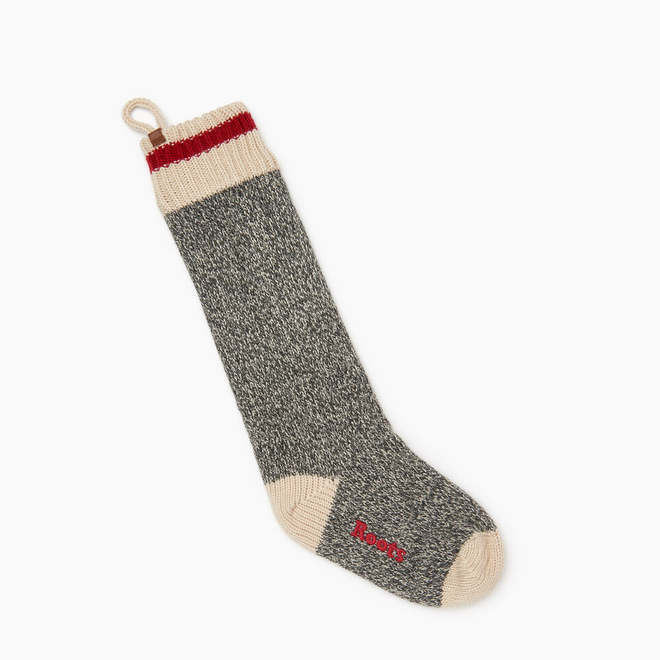 Roots-Women General Store-Roots Cabin Stocking-Grey Oat Mix-A