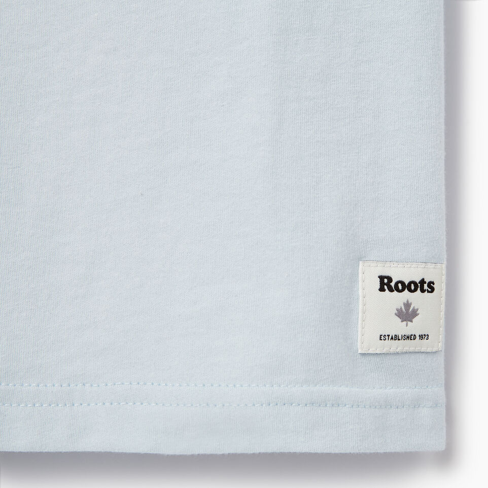 Roots-Kids New Arrivals-Boys Speedy Frank T-shirt-Baby Blue-C