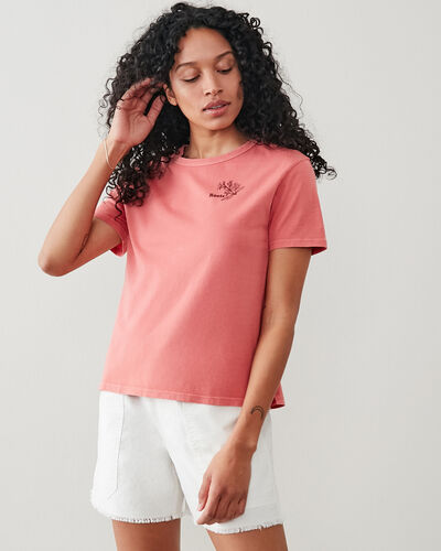 Roots-New For This Month Roots Organics-Womens Botanic Organic T-shirt-Rubia-A