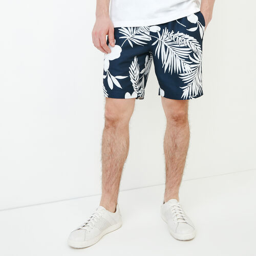 Roots-Men Our Favourite New Arrivals-Dock Aop Short-Navy Blazer-A