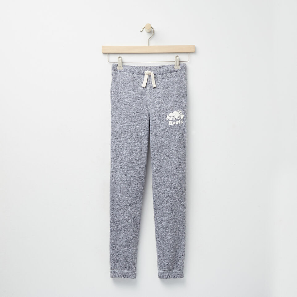 Roots-undefined-Girls Roots Salt and Pepper Original Sweatpant Rts-undefined-A